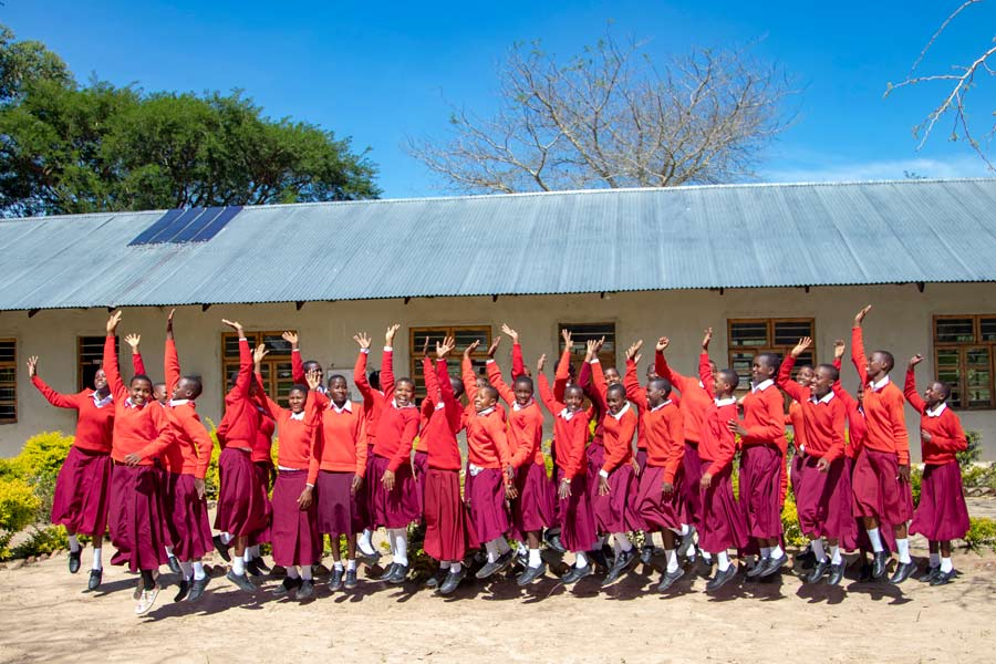 massai school tanzania girls